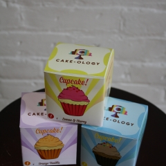 Cakeology Cupcake Boxes / Packaging Design