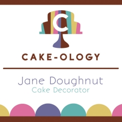 Cake-ology Business Card / Branding
